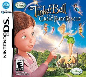 Tinker Bell The Great Fairy Rescue Nintendo DS, 2010
