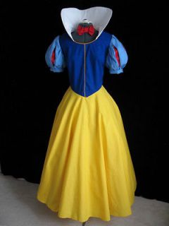 new adult snow white dress gown costume size 6
