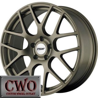 Newly listed 18 Bronze TSW Nurburgring Wheels Rims 5x112 5 Lug