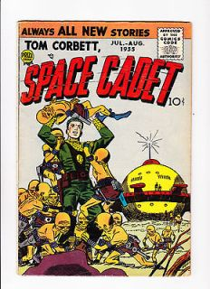 tom corbett space cadet no 2 1955 ufo cover time