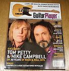 Guitar Player Magazine Aug 1986 Tom Petty Mike Campbell