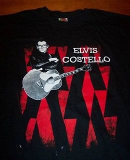 elvis costello t shirt in Clothing, Shoes & Accessories