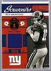 Eli Manning Giants Ole Miss 2010 Exquisite Auto Biography Booklet Auto
