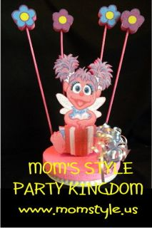 abby cadabby birthday party cake topper w