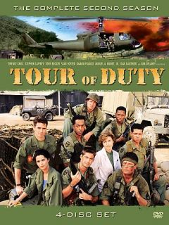 Tour of Duty   The Complete Second Season DVD, 2004, 4 Disc Set