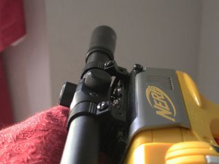 metal sniper scope fits all nerf guns adjustable sights time