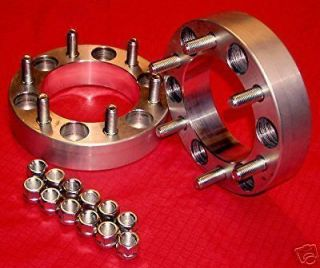 pcs 2 Toyota   6 lug 4x4 {BILLET} WHEELS SPACERS ADAPTERS MACHINED