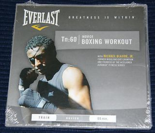 EVERLAST TN60   NOVICE BOXING WORKOUT  BRAND NEW SEALED TRAINING DVD