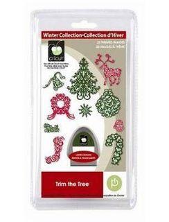 Newly listed Cricut Trim the Tree Seasonal Cartridge Brand New