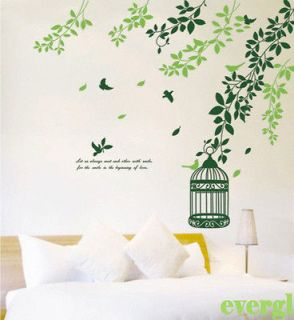 leaf wall decals in Decals, Stickers & Vinyl Art