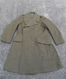 post ww2 aussie issue trench coat from australia returns accepted