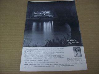 1969 tear drop camper advertisement vintage ad  2 99 buy it