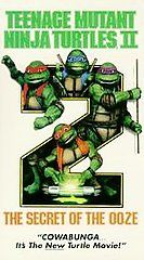 Teenage Mutant Ninja Turtles 2   The Secret of the Ooze VHS, 1991