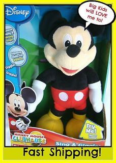singing mickey mouse in TV, Movie & Character Toys