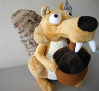 of Squirrel Ice Age Continental Drift 10 Tall Plush Animal Toy New
