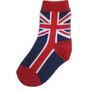 Okutani UK Flag Union Jack Crew Socks Punk Kids Children Boys Toddler