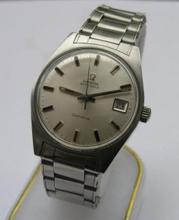 VINTAGE OMEGA AUTOMATIC GENEVE MENS WRIST WATCH SWISS 1969