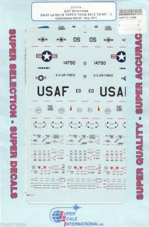 72 SuperScale Decals A 37 Dragonfly OA 37B 72 646