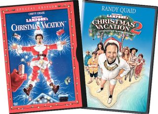 National Lampoons Christmas Vacation 1 2 DVD, 2004, 2 Disc Set, side