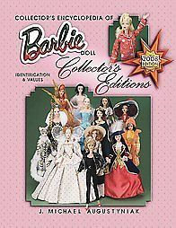 barbie dolls limited editions price guide collectors book one day