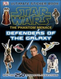NEW Star Wars the Phantom Menace Ultimate Sticker Book Defenders by