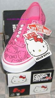 VANS Hello Kitty Sneakers Authentic PINK US 5.5