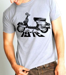 retro scooter vespa rally 200 electronic 1972 t shirt more