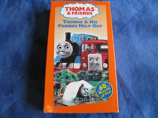 Thomas & Friends   Thomas & His Friends Help Out (VHS, 1996)