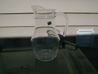 VINTAGE LADY VICTORIA FINE CRYSTAL GLASS PITCHER CHANTELLE PATTERN