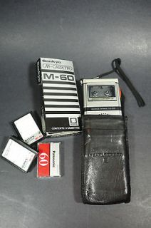 vintage olympus pearlcorder s micro cassette recorder