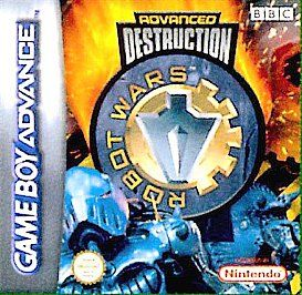 Robot Wars Advanced Destruction Nintendo Game Boy Advance, 2002