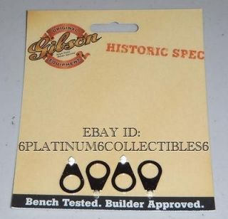 Gibson Historic Knob Pointers Nickel Guitar Parts Les Paul R8 R9