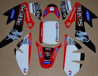 NEW MOTORCYCLE 3M GRAPHICS DECAL STICKER FOR HONDA CRF50 DIRT PIT BIKE