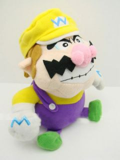 1PCS New Super Mario Bros WARIO 9 Plush Doll Soft Toy TW1416