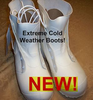 MILITARY WHITE EXTREME COLD WEATHER MICKEY MOUSE BUNNY BOOTS SIZE 11R