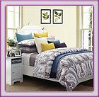 100% Cotton 300 TC Budapest Modern Paisley Bed In A Bag Comforter Set