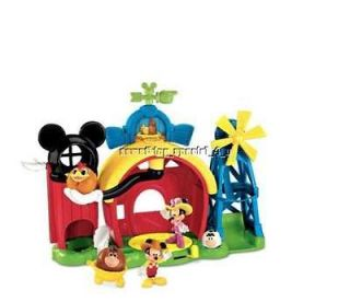 Disney Mickey Mouse Clubhouse Barnyard Dance Farm Playset Minnie