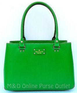 NWT NEW Authentic Kate Spade Wellesley Leather Elena Purse Bag Tote