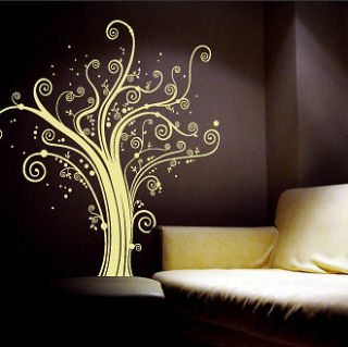 spiral flower vinyl wall art decal sticker decor more options