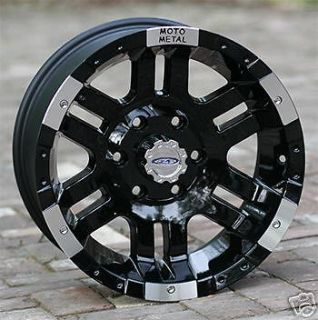 17 inch black wheels rims moto metal 951 2007 2013 jeep wrangler 5x5