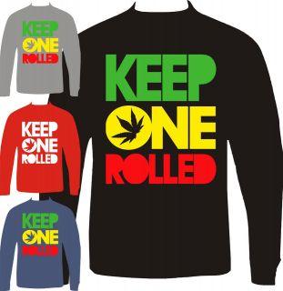 keep one rolled wiz khalifa sweatshirt crewneck ymcmb drake
