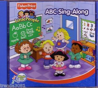 Fisher Price Little People ABC Sing a long CD Classic Childrens