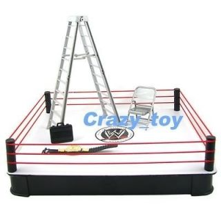 Newly listed New WWE Ring Arena W/ Accessories Ladder Belt + Figure