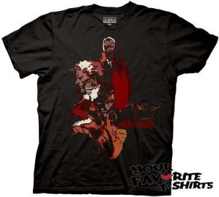 metal gear solid faces adult tee shirt s m l
