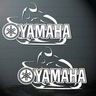 . YAMAHA MOTO BIKES STICKER CUT OUT COMPUTER JDM TRUCK CAR MOTOR BIKE