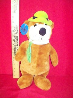 1986 YOGI BEAR 18 PLUSH HANNA BARBERA W/ TAG RETIRED CLEAN GREAT