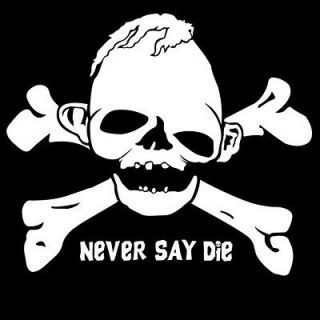 Newly listed Mens Adult T Shirt Sloth Skull and Crossbones Never Say