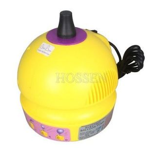220V 400W 14000pa Electric Balloon Pump 1 Nozzle Balloon Inflator Air