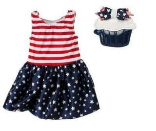 NWT Gymboree 4TH OF JULY 2011 Red White Blue Stars Stripe Pageant Tutu