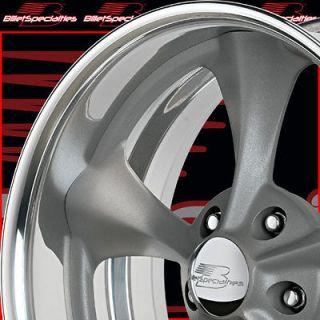 17X7 & 17X10 BILLET SPECIALTIES GRAY DAGGER G CAMARO GTO CHEVELLE
